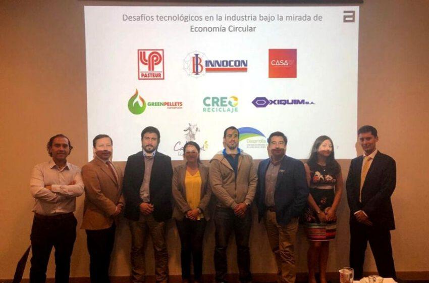 Economía Circular; Tema de 1ra actividad VIP en Concepción