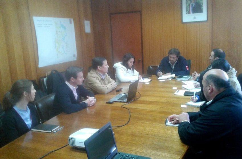 Reunión entre el Gobernador de la Provincia Limarí y Leitat Chile