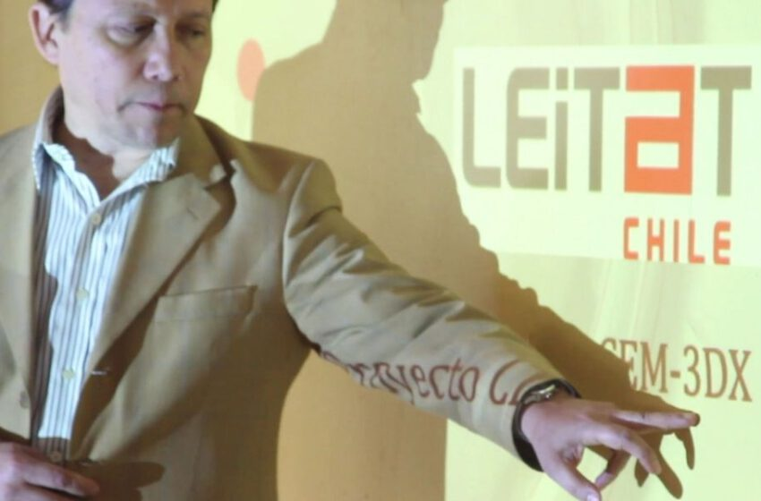 Asexma: Leitat Chile presenta el CEM-3DX