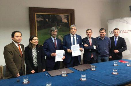 Firma Oficial de Convenio de Colaboración UDEC – Leitat Chile