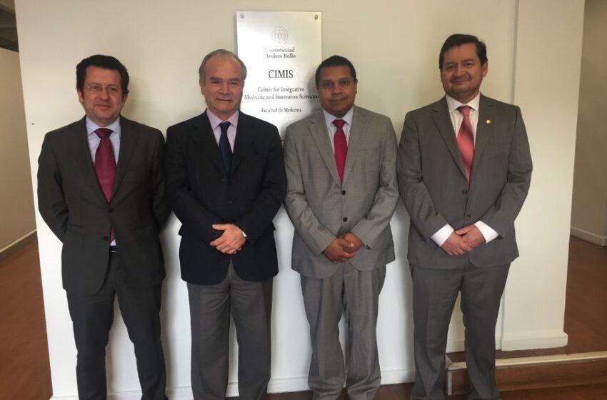 Embajador de España conoce convenio UNAB – LEITAT Chile